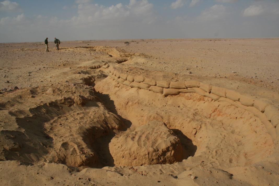 El Alamein battlefield