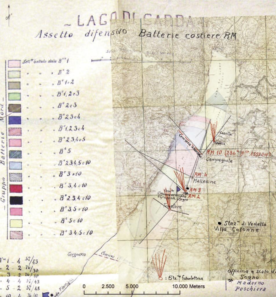 Grande Guerra in Veneto, Malcesine e Garda