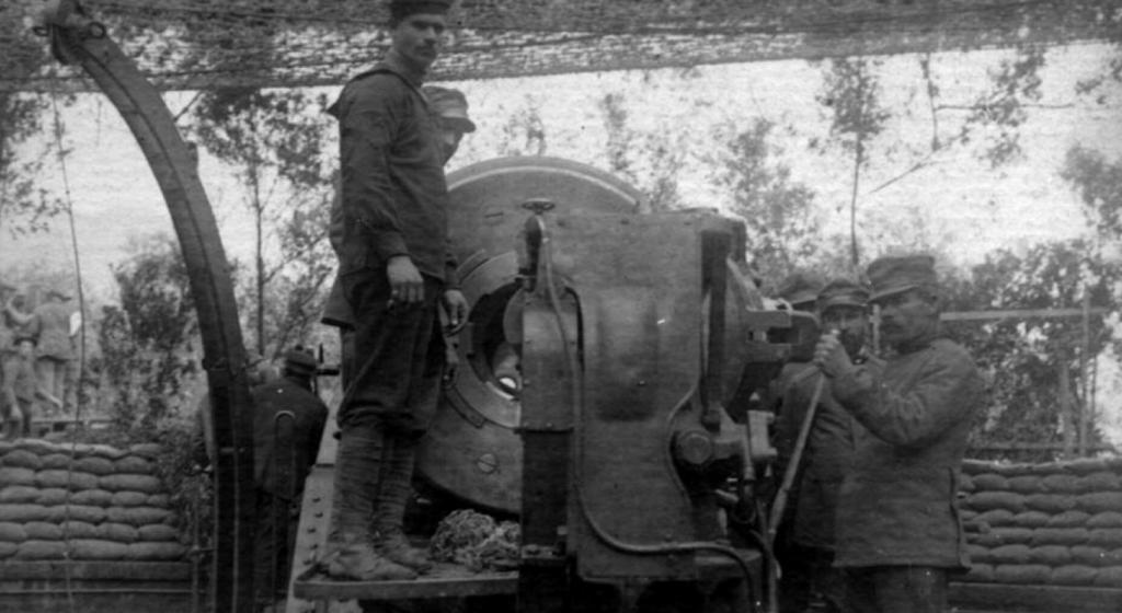 Artiglieria Grande Guerra sul fronte italiano