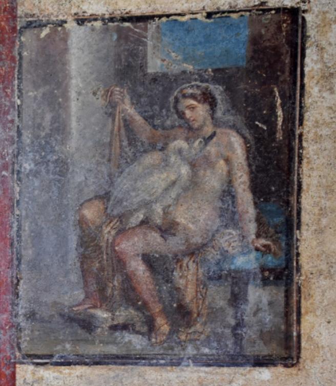 Affresco a Pompei
