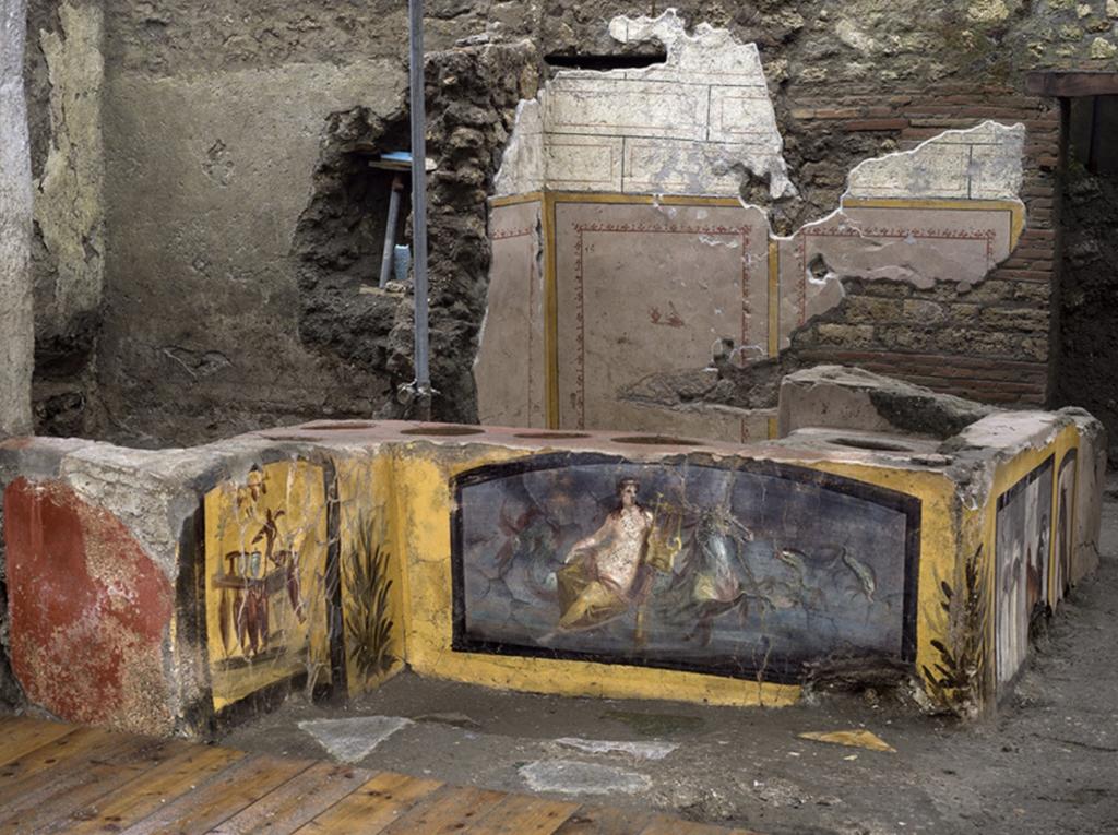 scavi del termopolio regio V Pompei