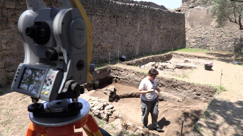 Scavi Complesso Riti Magici Pompei